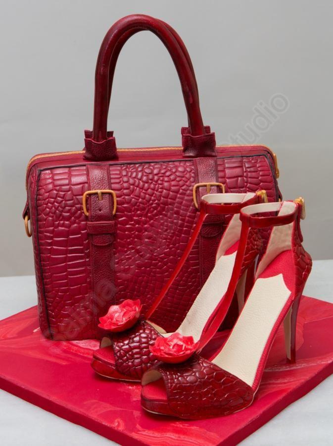 Fashion inspired handbag and high heels Cakes & Cake ...