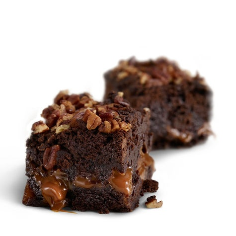 Caramel Pecan Brownies | Let Them Eat Cake (and other sweets, too ...