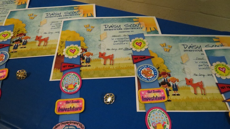 Girl Scout Investiture Ceremony Script