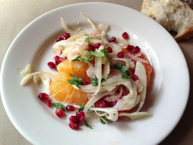 Winter Citrus Salad Recipe — Dishmaps