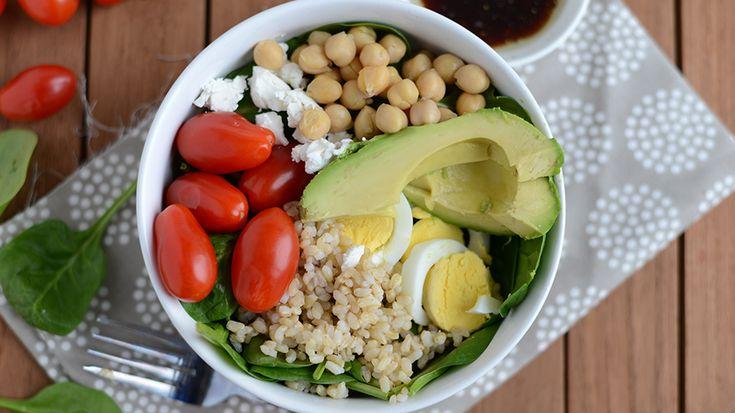 ... power salad, plus a vegetarian salad recipe that will make anyone a
