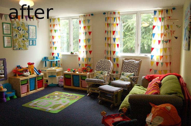 Neutral Classroom Decor : The church nursery after its makeover