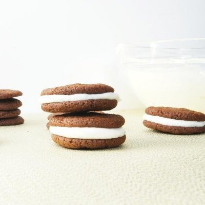 Gingersnap Sandwich Cookies With Lemon Filling Recipe — Dishmaps
