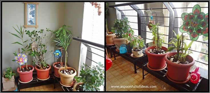 Pin by poornima kulkarni on create anything add a smile - Balcony garden designs india ...