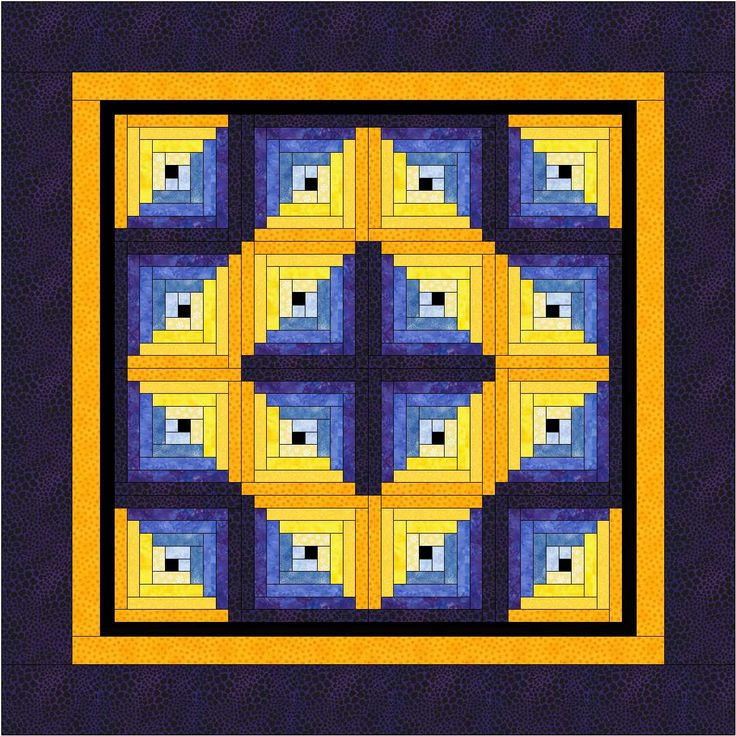 Quilting Designs For Log Cabin Blocks : log cabin blocks - Google Search Fiber Art - Quilts - Log Cabin P?
