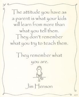 parents , children & attitude