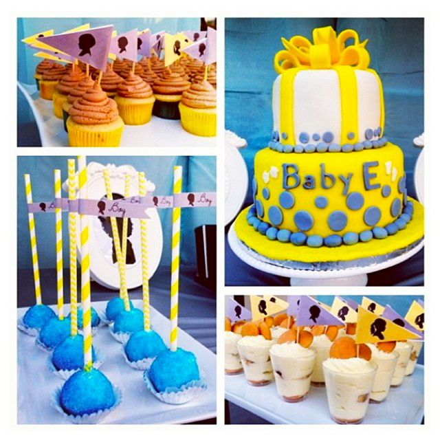 gender reveal baby shower party ideas