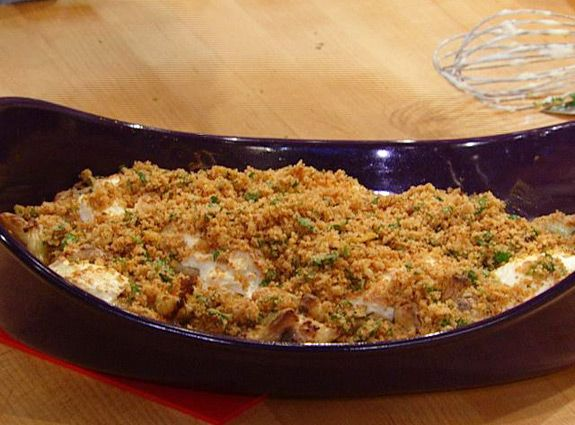 Roasted Cauliflower Au Gratin (I might be able to stand cauliflower ...