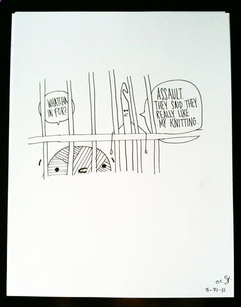 Crocheting Jokes : crochet humor