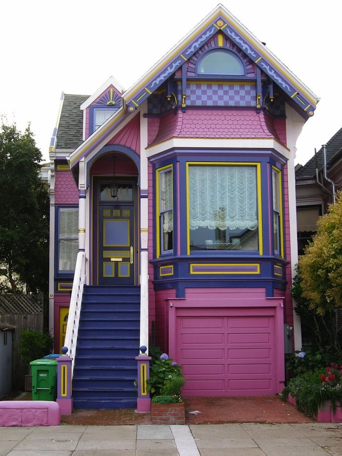 House paint jobs that would only fly in sf for Houses in san francisco