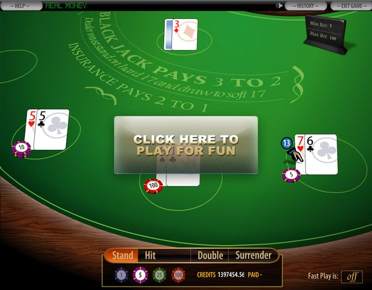 online 6 deck blackjack game