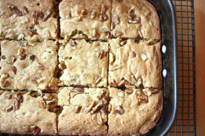 vegan maple blondies | Healthy Desserts | Pinterest