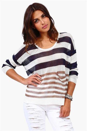 Spring Stripe Sweater