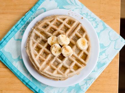 Banana Waffles | Food: Breakfast as It Should Be | Pinterest