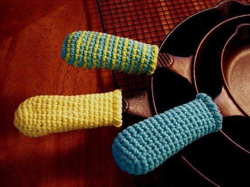 Pot Handle Covers Crochet Pinterest