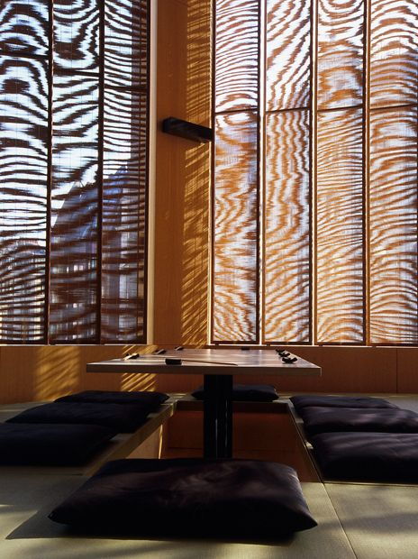 Sake No Hana restaurant, London designed by Kengo Kuma Architect