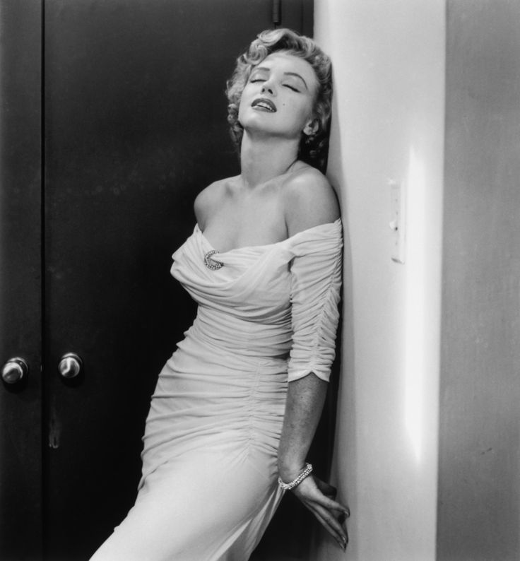 Marilyn Monroe photographed by Phillippe Halsman in 1952