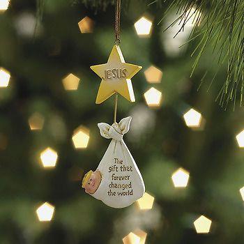Baby jesus christmas tree decorations christmas decorating for Baby jesus christmas decoration