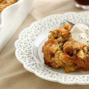 Apple Matzah Pudding from Chow, found at www.edamamam.com. # ...
