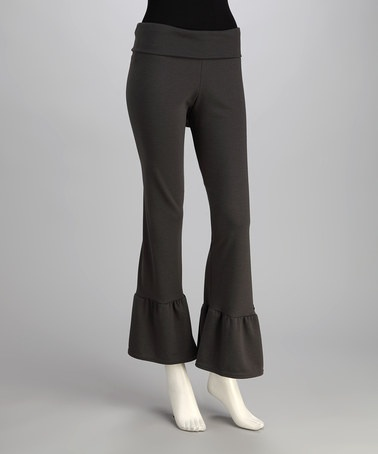 Creative Black Ruffle Pants Katybrooke Boutique  Katybrooke Boutique Styles