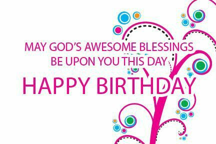 Birthday Blessings Christian Quotes. QuotesGram