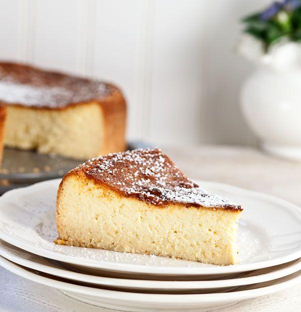 Italian Ricotta Cheesecake | Desserts | Pinterest