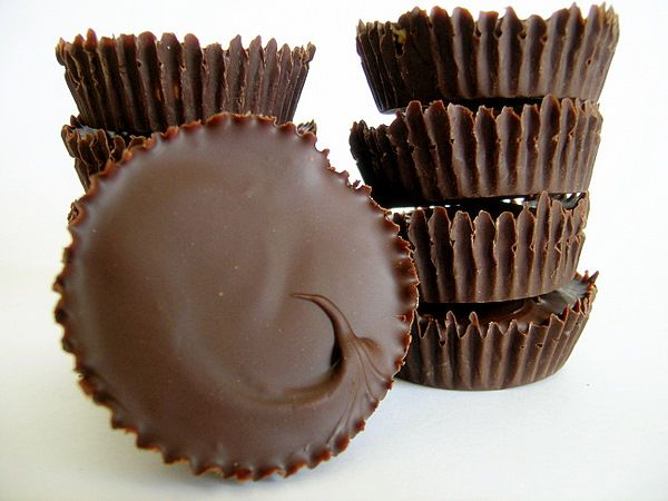 Homemade peanut butter cups - better, richer, creamier than store-bought, and super easy.