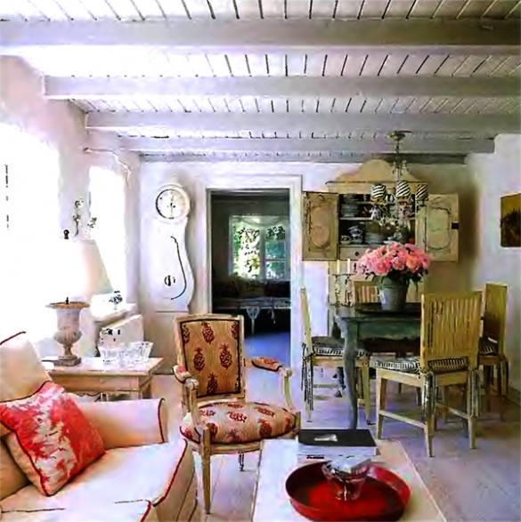 Country Cottage Room Living Rooms Pinterest
