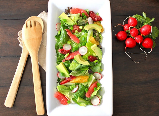 Avocado Citrus Salad | Salads | Pinterest