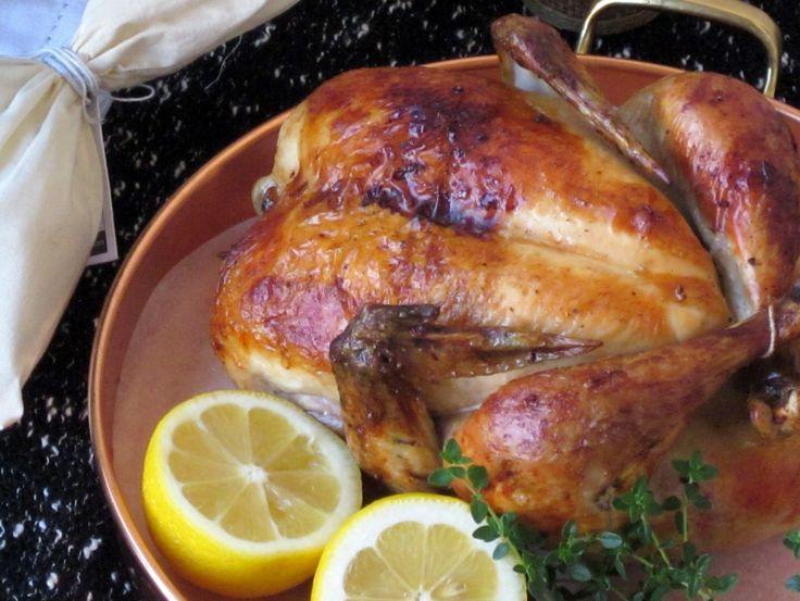 Julia Child's perfect Roast Chicken | DIN-DIN! COME & GET IT!!! | Pi ...