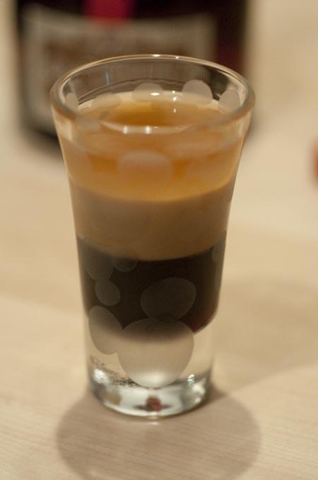 B52 Shots 1 3 shot     Kahlua 1 3 shot     Baileys Cream Liquor 1 3    B52 Shot