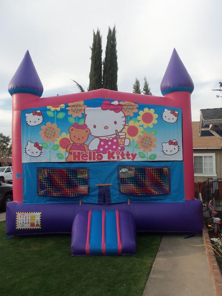 Pin Hello Kitty Bounce House On Pinterest