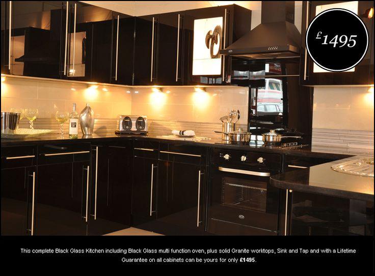 Black kitchen cabinets black kitchens interiors for Black kitchen cupboards