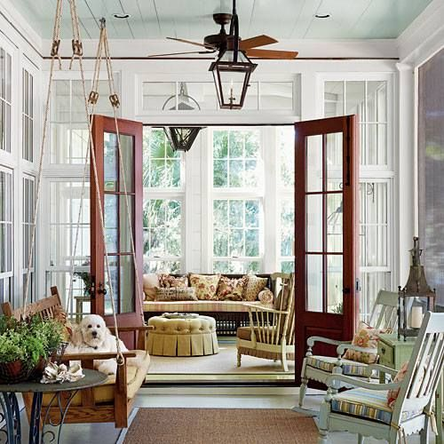 From Southern Living Sun RoomReading Room Pinterest