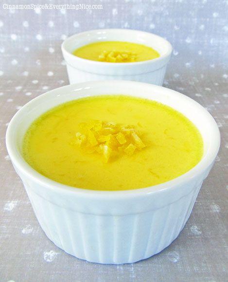Lemon Pots de Creme Sub the sugar for Splenda or Truvia
