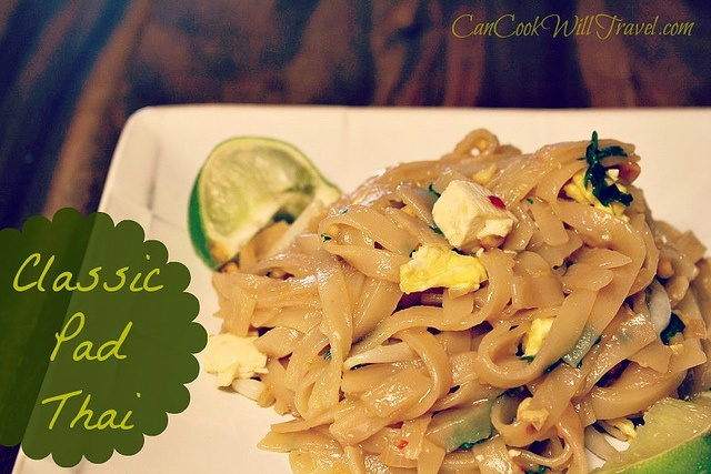 Classic Pad Thai - you're gonna love it! | Good Enough to Eat | Pinte ...