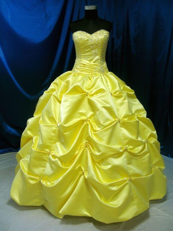Yellow Wedding Dresses For Girls Yellow Pinterest