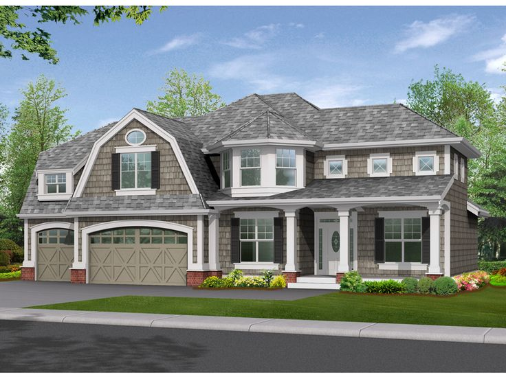 Smart placement luxury craftsman house plans ideas house for Craftsman luxury homes
