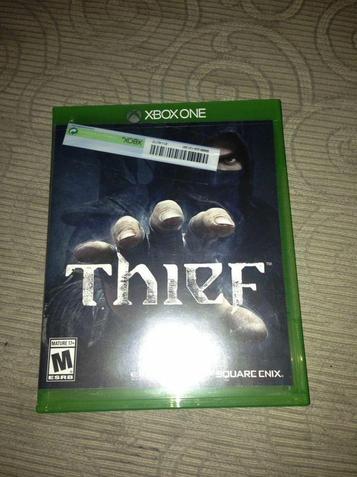 Thief  Microsoft Xbox One  2014  Open Box Video Game Sqare Enix Eidos    Xbox One Open Game Box