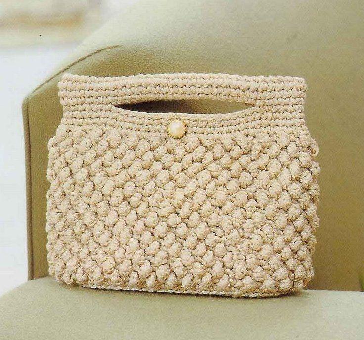 Crochet Bags Pinterest : crochet bag ??????? ????? Pinterest