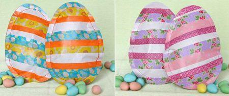 Como hacer un huevo de pascua con papel
