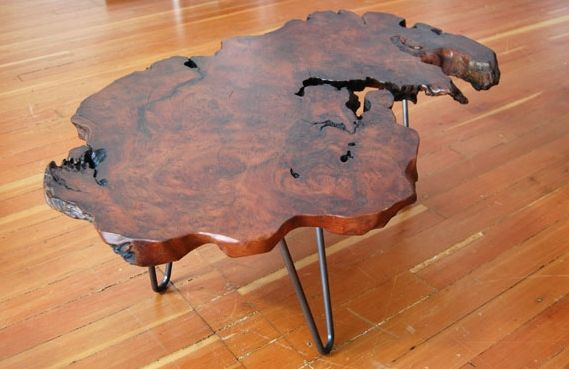 Redwood Burl Coffee Table Home Pinterest