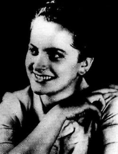 """""""Irma Grese, """"the Beast of Belsen"""" (1923-1945) - a former nursing assistant and teenage Nazi SS auxiliary female guard in Auschwitz and Belsen concentration camps. Under the Nazi system, Irma was trained to function as a state serial killer, but in the end began to kill for her own hedonistic needs. She had a dark compulsion to torture and kill inmates in her charge and became so excessively homicidal that even male SS guards began to complain. She was hung by the British on December 13th 1945."""""""