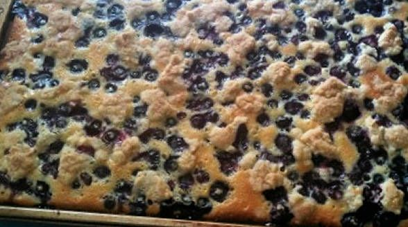 "Berry Cobbler Pie Bars ""These berry cobbler pie bars have layers of ..."