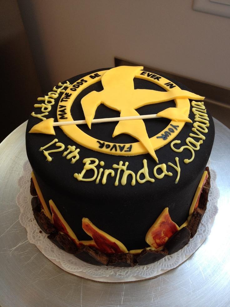 Hunger Games Cakes Ideas 14707 Hunger Games Cake Birthday
