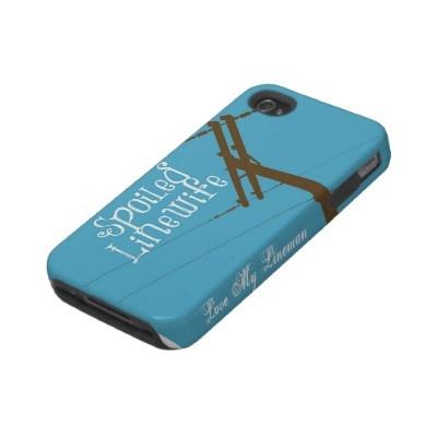 Spoiled Linewife- iPhone 4/4s Iphone 4 Tough Case by Linewife
