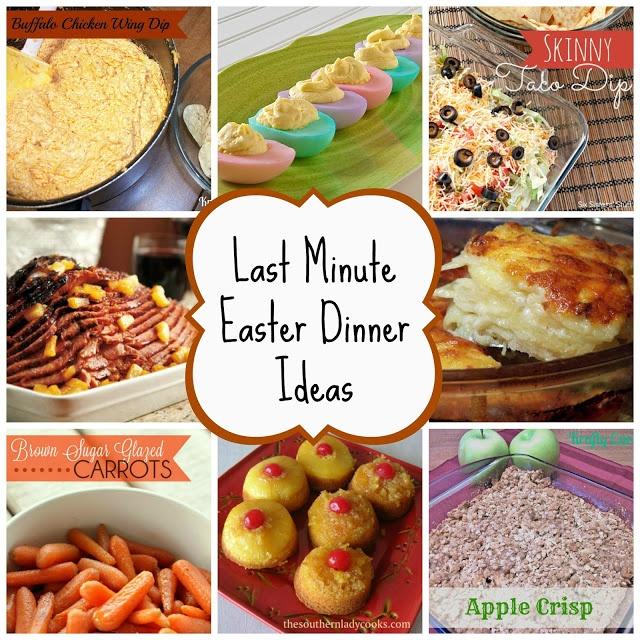 Last minute easter menu ideas dessert ideas pinterest for Easter dinner menu ideas