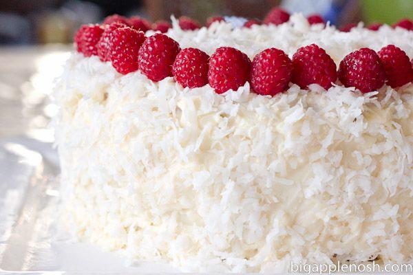 Raspberry Coconut Cake | Hungry Again. . . Cakes | Pinterest