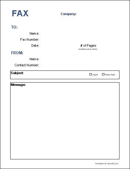 printable fax log template .