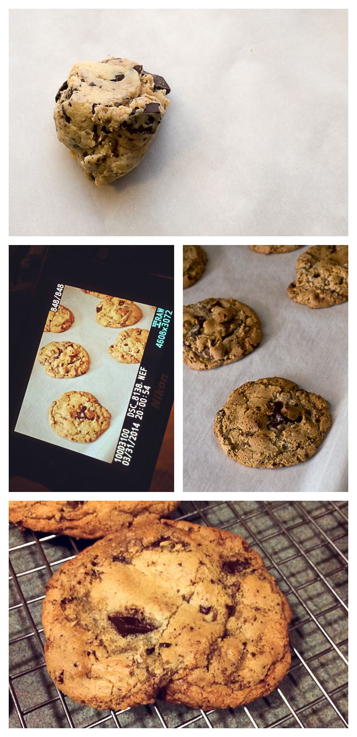 ... to making them. Gluten-free brown butter chocolate chunk cookies